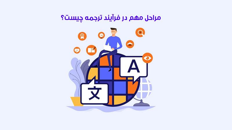 سه مرحله مهم در فرآیند ترجمه